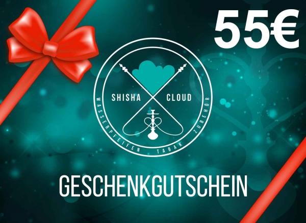 Geschenkgutschein 55€